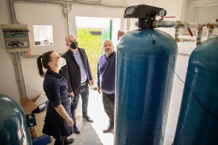 Az ivóvíz közös kincs, a segítség közös felelősség –víztisztítóberendezés adományozása Patonyrétnek