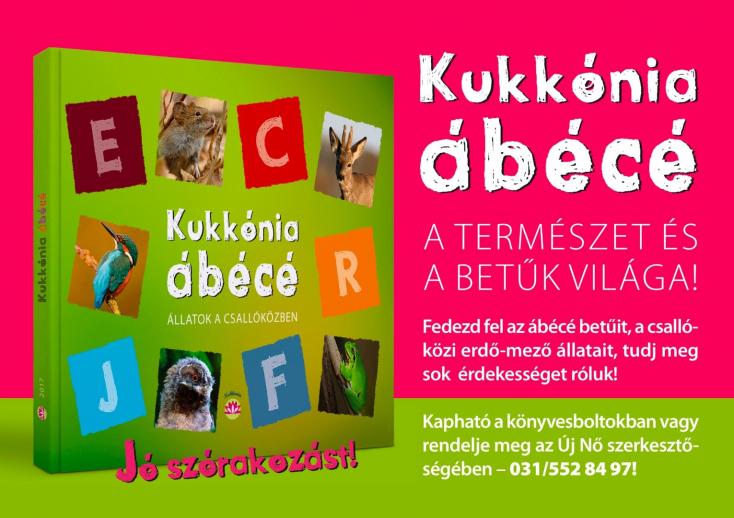 Megjelent Fodor Péter: Kukkónia ábécé - Állatok a Csallóközben c. könyve!