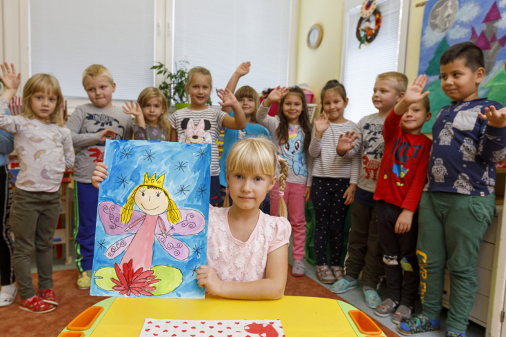 Két csallóközi gyermekrajz aKukkonia pudingokon!