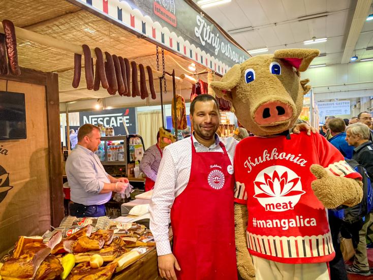 A Kukkonia finomságai sikert arattak a Danubius Gastro kiállításon