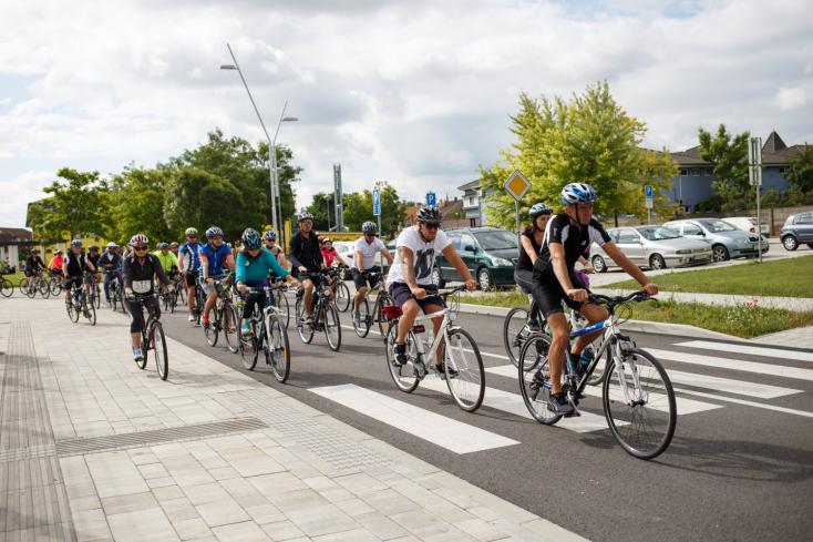 II. Tour De Kukkonia: Dunaszerdahely felkerült Szlovákia kerékpáros térképére